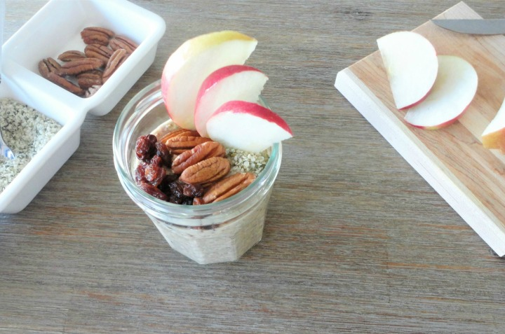 Apple overnight oats