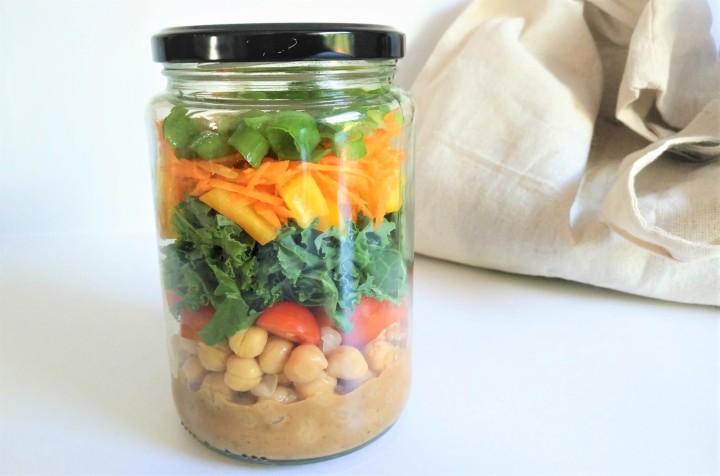 Salade repas enpot