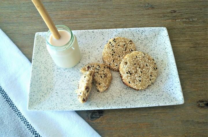 Biscuits sablés sésame &noix