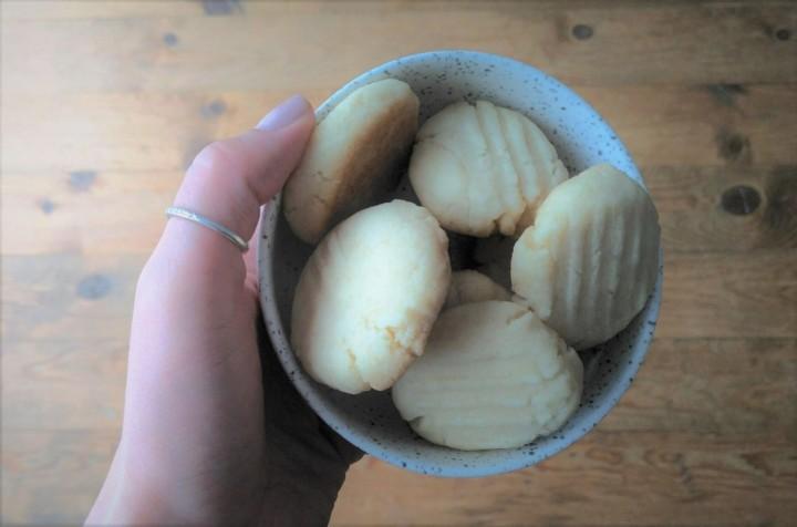 Biscuits sablés véganes