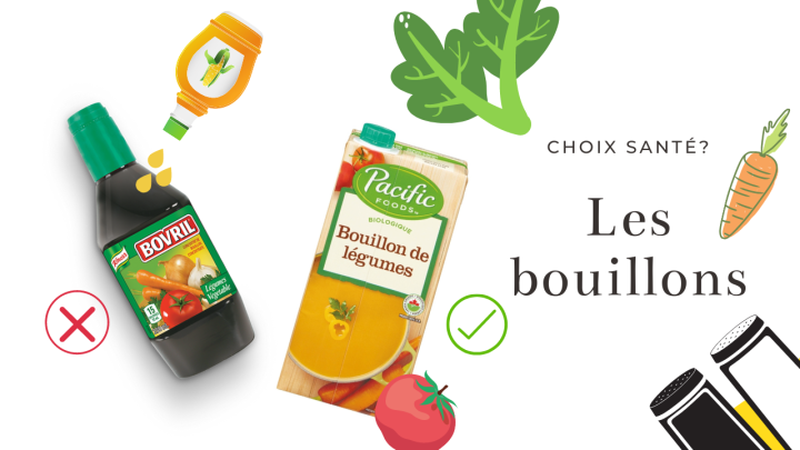 Bouillon maison vs du commerce